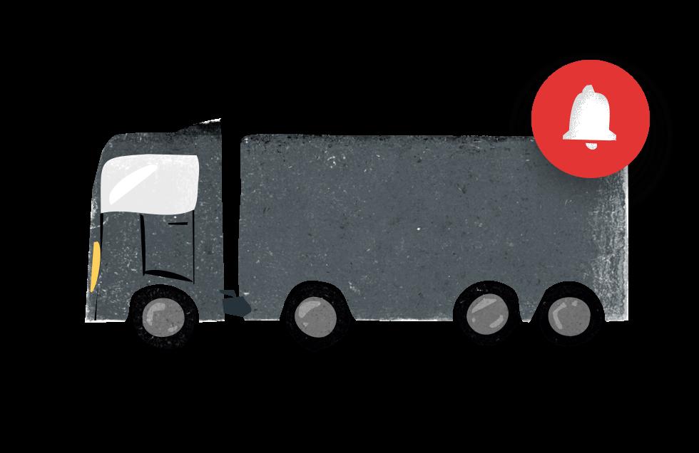 camion notifica SIPLI FLEET
