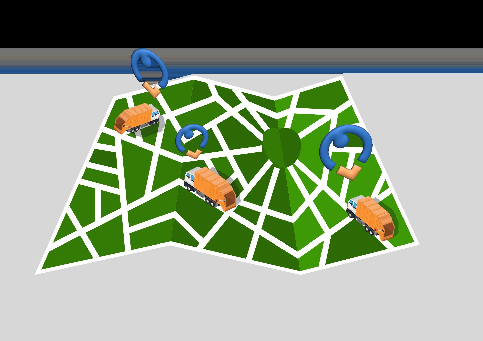 Localizzazione GPS raccolta rifiuti soluzioni- Sipli Fleet