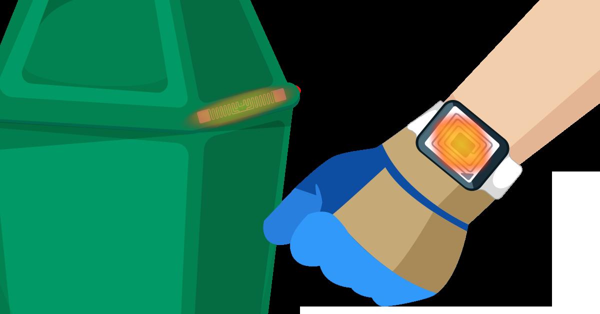 Tag RFID rifiuti soluzioni- Sipli Fleet