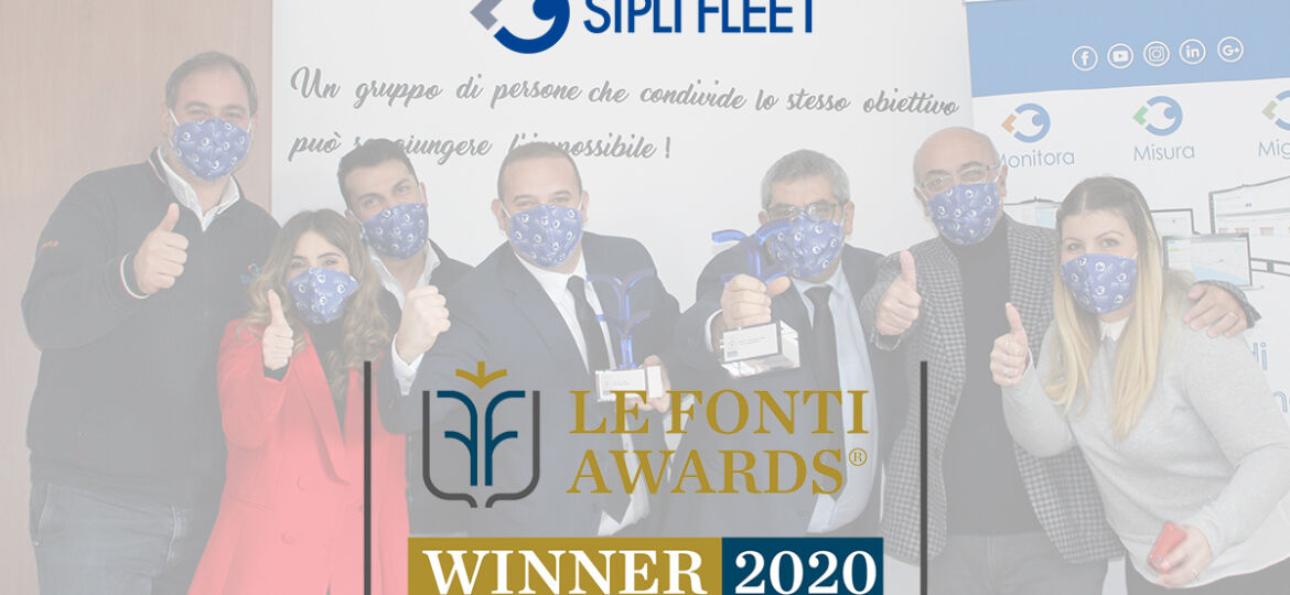 Le fonti awards - vincitori 2020 mobilità fleet management